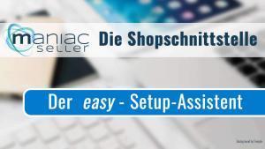 Die Schnittstelle zwischen SelectLine und Shopware mit dem easy-Setup - Assistent einrichten