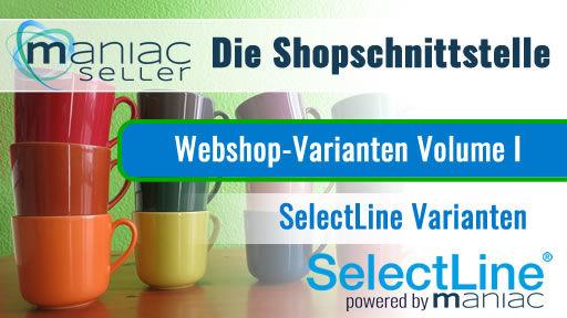 Varianten aus der SelectLine zum Shopware hochladen
